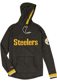 Mitchell and Ness Pittsburgh Steelers Lightweight Black Fashion Hood