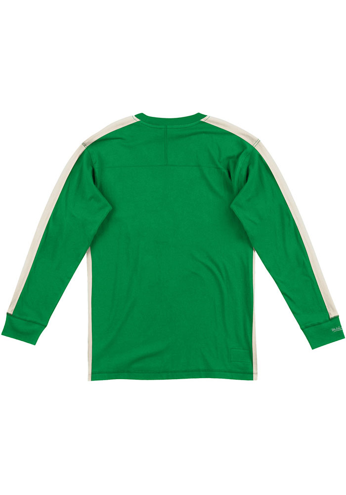 Mitchell and Ness Philadelphia Eagles Kelly Green Team Inspired Long Sleeve Fashion T Shirt - Image 2