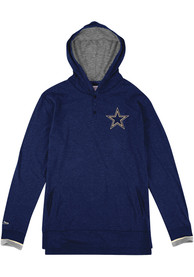 Mitchell and Ness Dallas Cowboys Seal the Win Navy Blue Fashion Hood