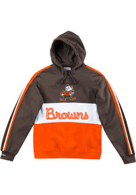 Cleveland Browns Mitchell and Ness Leading Scorer Fashion Hood - Brown