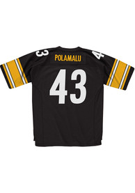 Troy Polamalu Pittsburgh Steelers Mitchell and Ness 2005 Football Jersey - Black