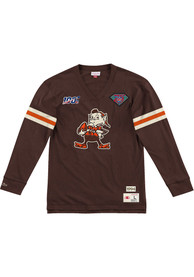 Cleveland Browns Mitchell and Ness Team Inspired Fashion T Shirt - Brown