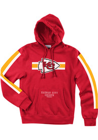 Mitchell and Ness Kansas City Chiefs Red These Stripes Hoodie