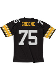 Mitchell and Ness Pittsburgh Steelers Joe Greene 1976 Throwback Jersey - Black