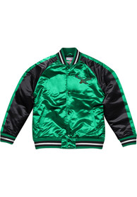 Philadelphia Eagles Mitchell and Ness Colorblocked Lightweight Light Weight Jacket - Kelly Green