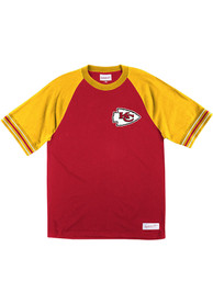 Kansas City Chiefs Mitchell and Ness Team Captain Fashion T Shirt - Red