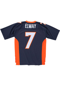 Mitchell and Ness Denver Broncos Legacy Throwback Jersey - Navy Blue