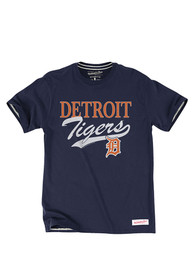 Mitchell and Ness Detroit Tigers Orange s Fashion Tee