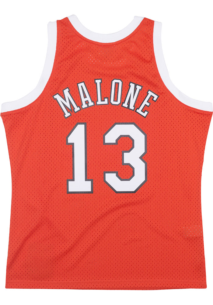 Moses Malone St Louis Spirits Mitchell and Ness Throwback Swingman Jersey - Image 1