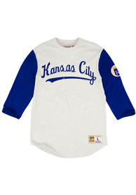 Mitchell and Ness Kansas City Royals White Extra Out Fashion Tee
