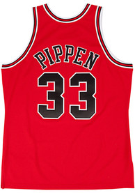 Scottie Pippen Chicago Bulls Mitchell and Ness 1997 Throwback Swingman Jersey - Red