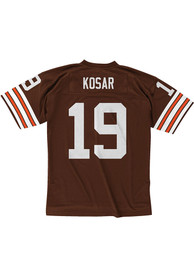 Mitchell and Ness Cleveland Browns Bernie Kosar 1987 Throwback Jersey - Brown