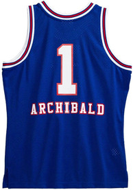 Nate Archibald Kansas City Kings Mitchell and Ness 1975 Throwback Swingman Jersey - Blue