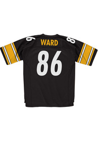 Mitchell and Ness Pittsburgh Steelers Hines Ward 2005 Throwback Jersey - Black