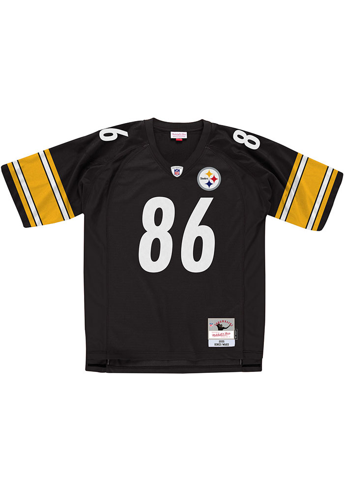 Pittsburgh Steelers Hines Ward Mitchell and Ness 2005 Throwback Jersey - 5650086
