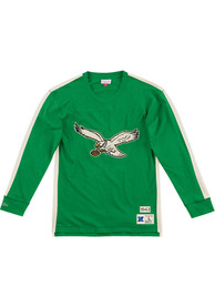 Philadelphia Eagles Mitchell and Ness Team Inspired Fashion T Shirt - Kelly Green