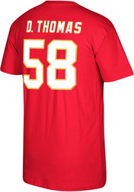 Derrick Thomas Kansas City Chiefs Mitchell and Ness Name And Number T-Shirt - Red