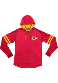 Kansas City Chiefs Mitchell and Ness Lightweight Hoody 2.0 Fashion Hood - Red