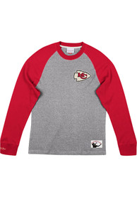 Kansas City Chiefs Mitchell and Ness Play by Play Fashion T Shirt - Red