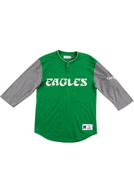 Philadelphia Eagles Mitchell and Ness Franchise Player Fashion T Shirt - Kelly Green