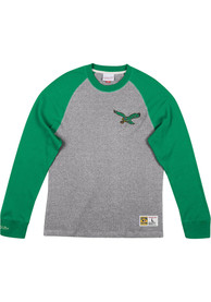 Philadelphia Eagles Mitchell and Ness Play by Play Fashion T Shirt - Kelly Green