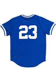 Chicago Cubs Ryne Sandberg Mitchell and Ness 1984 Throwback Cooperstown Jersey - Blue