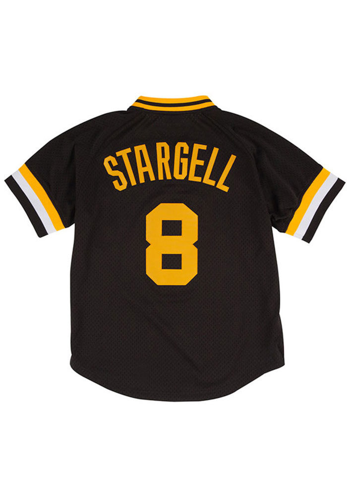 d5f5b977f Willie Stargell Pittsburgh Pirates Mens Cooperstown Jersey - Black - Image 1
