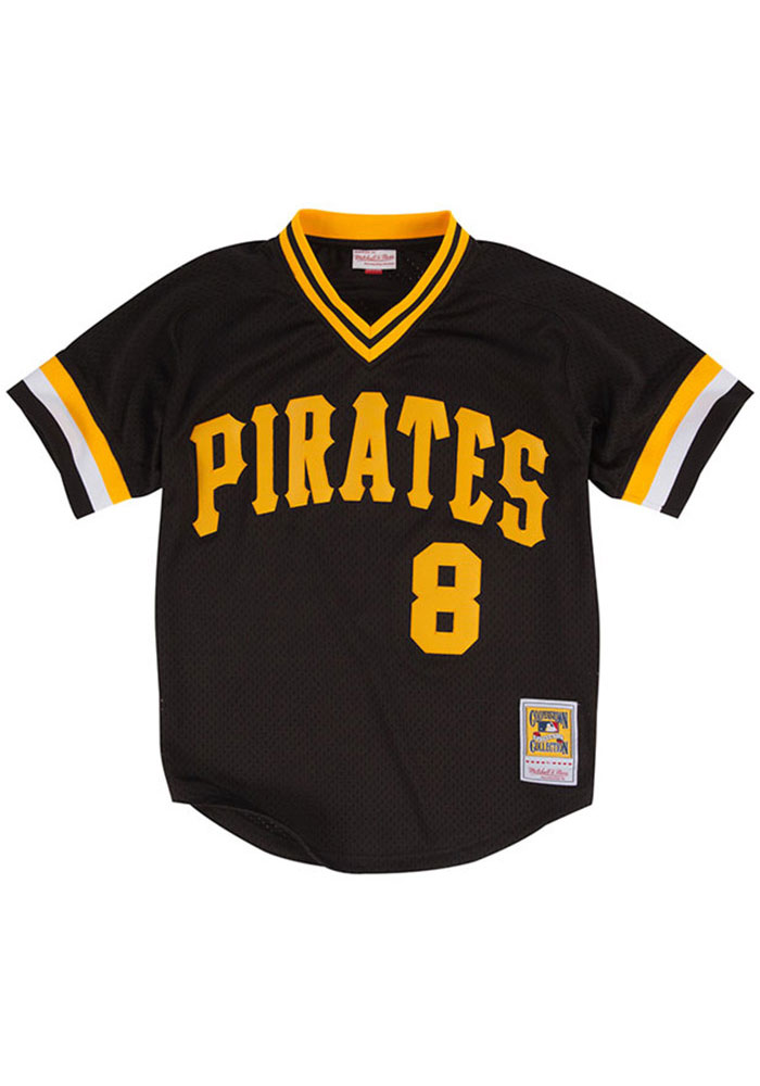 buy online 37a38 3b660 Willie Stargell Pittsburgh Pirates Mens Cooperstown Jersey - Black