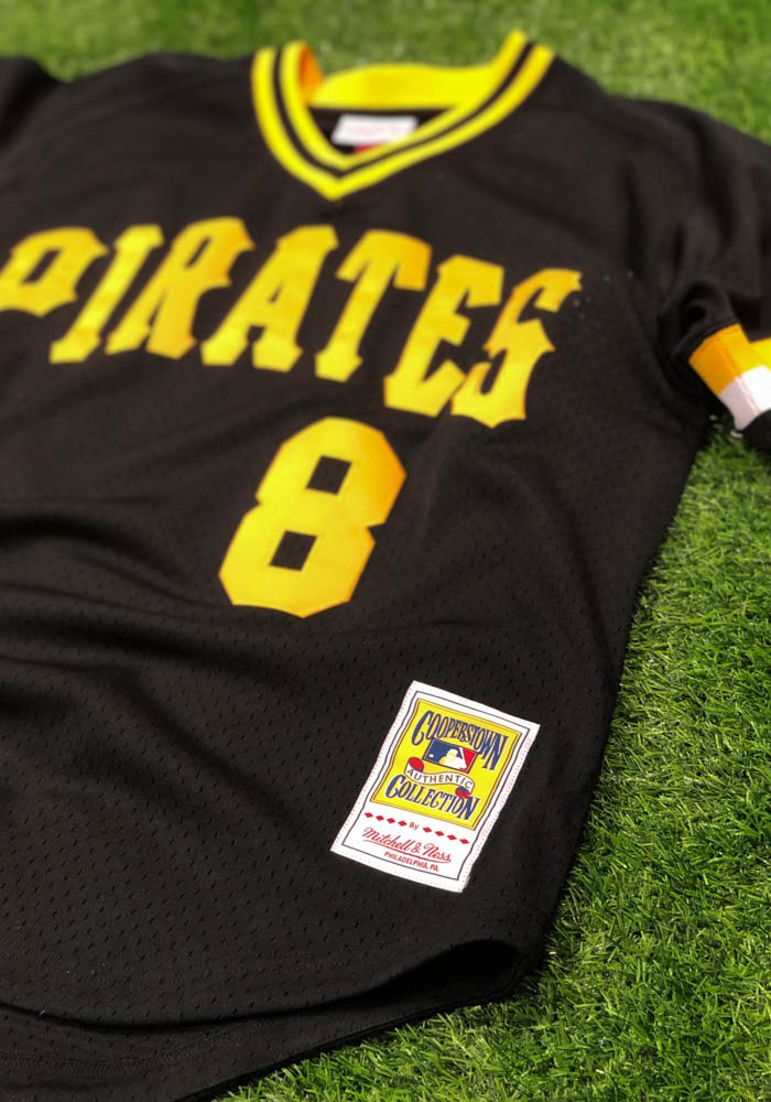 Willie Stargell Pittsburgh Pirates Mens Cooperstown Jersey - Black - Image 3