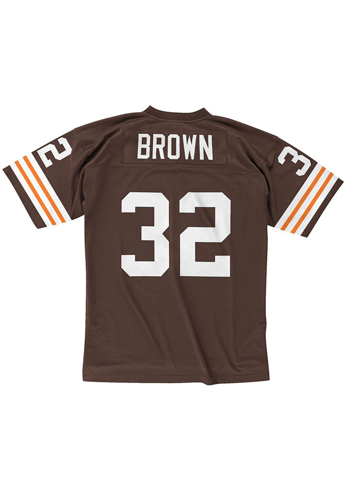 Cleveland Browns Jim Brown Mitchell and Ness 1963 Throwback Jersey - 56501622