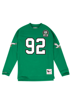 faa15c2e0c2 ... Reggie White Mitchell and Ness Philadelphia Eagles Mens Green 1992  Authentic Jersey ...