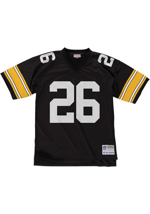 Rod Woodson Mitchell and Ness Pittsburgh Steelers Mens Black 1993 Replica Jersey