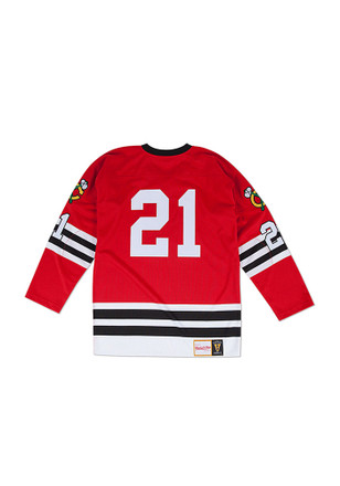 Stan Mikita Chicago Blackhawks Mens Red Authentic Jersey