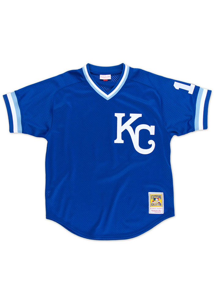 Bo Jackson Kansas City Royals Mens Cooperstown Jersey - Blue - Image 2