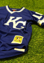 Kansas City Royals Bo Jackson Mitchell and Ness 1989 Throwback Cooperstown Jersey - Blue