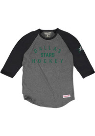 Mitchell and Ness Dallas Stars Grey Fashion Tee