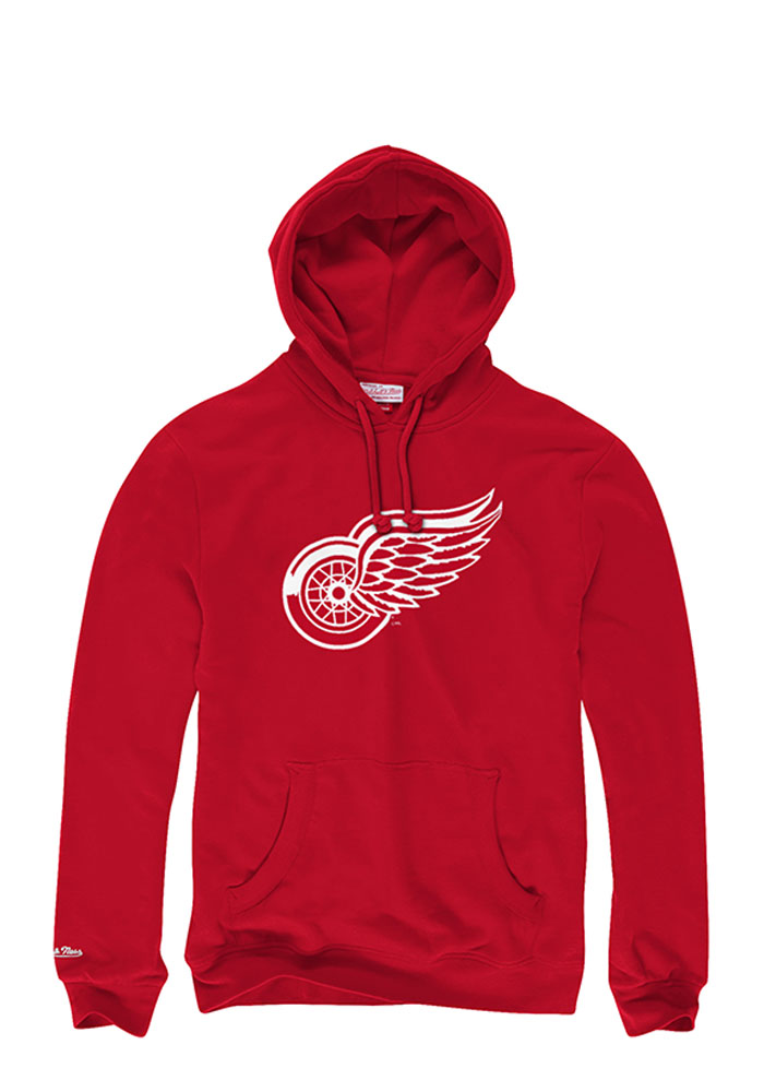 Detroit Red Wings Mens Red Fashion Hood - Image 1