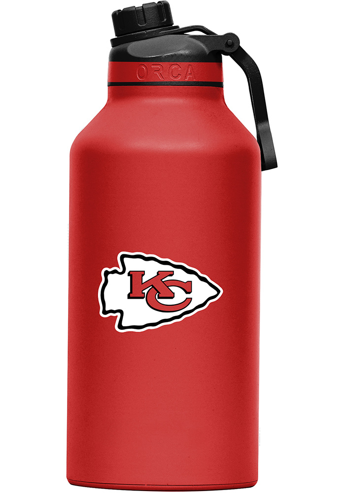 Kansas City Chiefs Hydra 66oz Color Logo Stainless Steel Tumbler - Red - Image 1