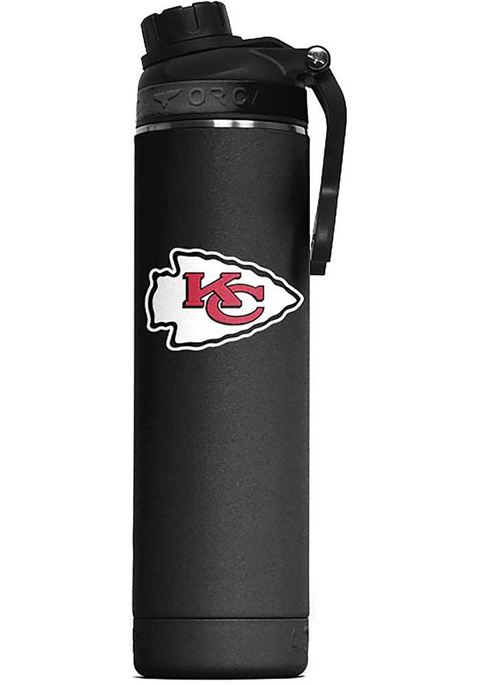 Kansas City Chiefs Hydra 22oz Color Logo Stainless Steel Tumbler - Black - Image 1