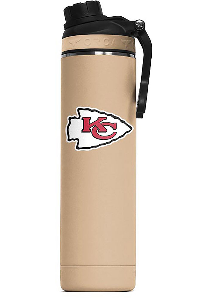 Kansas City Chiefs Hydra 22oz Color Logo Stainless Steel Tumbler - Brown