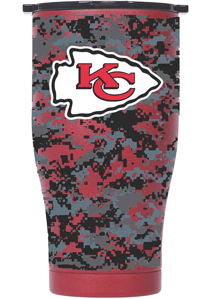 Kansas City Chiefs Chaser 27oz Digital Print Stainless Steel Tumbler - Red