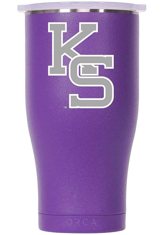 K-State Wildcats ORCA Chaser 27oz Color Logo Stainless Steel Tumbler - Purple