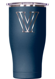 Villanova Wildcats ORCA Chaser 27oz Laser Etched Logo Stainless Steel Tumbler - Navy Blue