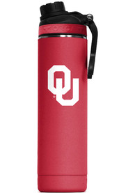 Oklahoma Sooners Hydra 22oz Color Logo Stainless Steel Tumbler - Red