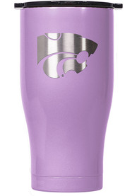 K-State Wildcats ORCA Chaser 27oz Laser Etched Logo Stainless Steel Tumbler - Purple