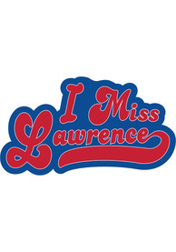 Kansas I Miss Lawrence Stickers