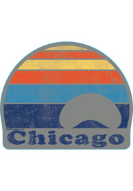 Chicago Sunset Stickers