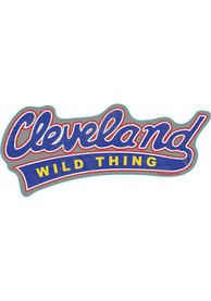 Cleveland Wild Thing Stickers