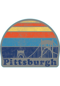 Pittsburgh Sunset Stickers