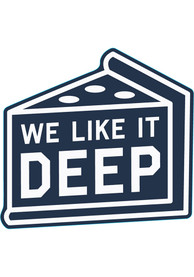 Chicago Like It Deep Stickers